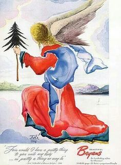 Dali's Christmas cards....1948