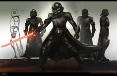 ArtStation - Sith & Commander, chris anderson