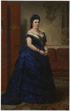 Don Federico de Madrazo y Kuntz (Spanish,1815-1894).** Мария дель Кармен Фернандес , герцогиня Сантонья **