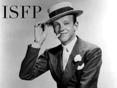 Fred Astaire ISFP | The Book Addict's Guide to MBTI #ISFP