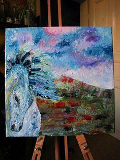 Oil on canvas, 40x40 cm