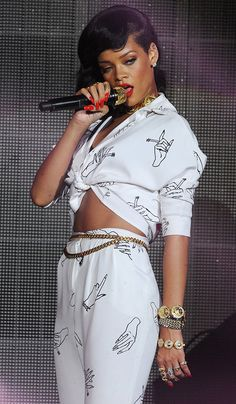 Rihanna, I lost all respect for her when she took Chris Brown back