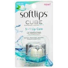 Softlips Cube Lip Protectant, SPF 15, Fresh Mint  #SoftlipsCube