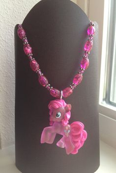 Crystal MLP Pinkie Pie Necklace