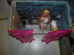 box doccia per Barbie