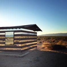 Lucid Stead installation by Phillip K Smith III - high desert test sites 2013.