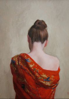 #music #playlist Damn Monday Session: Ars Longa, Vita Brevis /// The Red Shawl, oil painting by Stephanie Rew