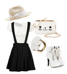"""Untitled #91"" by musicheartbeatjj ❤ liked on Polyvore featuring KLING, Tory Burch and Chanel"