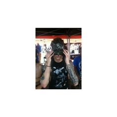 MY HUSBAND ANDY BIERSACK ❤ liked on Polyvore featuring andy biersack, black veil brides, bvb and pictures // andy biersack