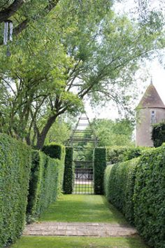 A Library of Design: Prieure d'Orsan: A Garden Inspired By Horticultural Gods