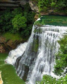 Waterfall Pinned by AKT from Instagram. @nesrine143 #nature #scenery #greenery #waterfalls #trees #lake #stunning_view #world #uk #usa #gcc #ksa #kuwait #bahrain #uae #maldives #brazil #argentine #alaska #turkey #iran #iceland #denmark #poland #canada #australia #belarus #malta #seychelles #austria
