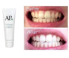 NEW Authentic Nu Skin NuSkin Whitening Fluoride Toothpaste Nu Skin, Ap 24 Whitening Toothpaste, Whitening Fluoride Toothpaste, Skin Whitening, Teeth Bleaching, Beauty Box, Dental, Enamel, Just For You