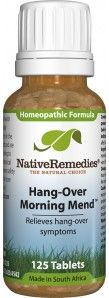 Hang-Over Morning Mend™ - Reduce the Effects of Drinking Alcohol  This sounds wonderful lol