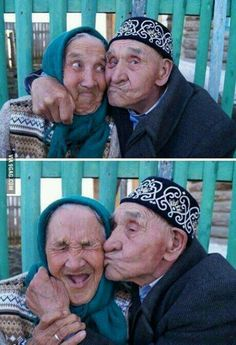 I wanna grow old and silly with someone<3 #CuteOldCouple