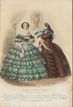 Le Moniteur de la Mode, 1857.