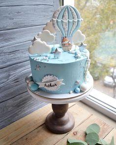 Boys First Birthday Cake, Baby Birthday Cakes, Baby Boy Cakes, Gateau Baby Shower, Baby Shower Cakes, Ballerina Cakes, Baby Sprinkle, Beautiful Cakes, Cake Designs