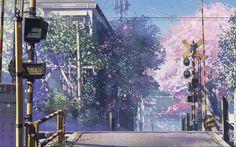 Cinco centímetros por segundo de Makoto Shinkai
