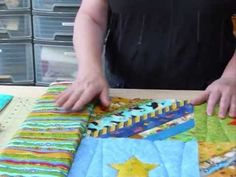 DiY How To Prepare Borders for a Quilt As You Go Quilt: Quilting Tips & ...
