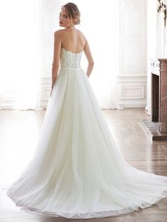 Enza Wedding Dress by Maggie Sottero   back