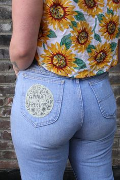 Sage Feminism Is Freedom PATCH
