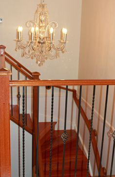 the old carpet was removed and we supplied and installed solid timber treads with risers to the staircase for a complete makeover. Call us to discuss how we can renovate your old staircase 9756 4242