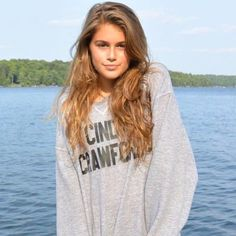 Supermodel-in-Training Kaia Gerber Steals Mom Cindy Crawford's Clothing: See Her Latest Stunning Shot! Kaia Gerber, Cindy Crawford, Instagram