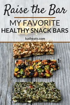 Snack bars are the ultimate grab-and-go fuel. Here are some of my favorite dietitian-approved snack bar brands! #healthysnackideas #snackbars #rdapproved #dietitianapproved #healthysnacks #larabar #slowbar #homemadeenergybars #energybars #simplebars