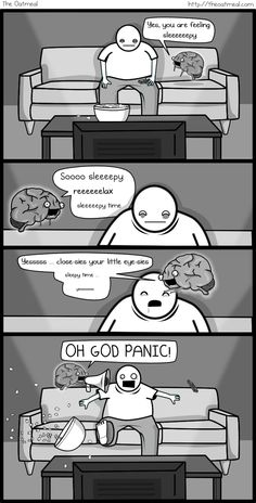 If my brain were an imaginary friend - The Oatmeal