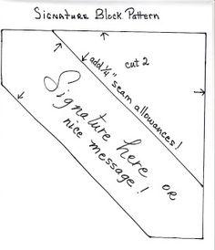 FUNSTITCHERY: Signature Quilts