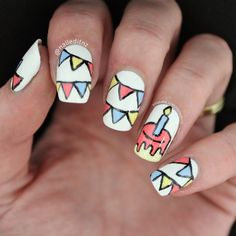 16 Fabulously Festive Nail Designs To Rock On Your Birthday – Birthday ideas