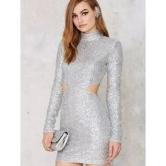 Sequin birthday/party dress Not Nasty Gal but identical to the one sold on their site. Perfect for a birthday or party. Never been worn. Size small. Nasty Gal Dresses