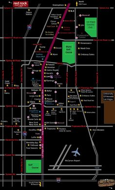 12 Best Las Vegas Maps images