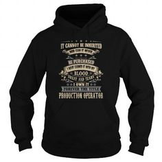 PRODUCTION OPERATOR T-Shirts, Hoodies (38.99$ ==► Shopping Now!)