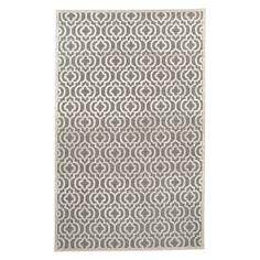 nuLOOM Wilfred Lattice 230x305cm Rug, Light Grey | ACHICA