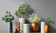 Modern Farmhouse Mantel Decor Collection - Hearth & Hand™ with Magnolia Farmhouse Style Decorating, Farmhouse Decor, Rustic Decor, Astilbe Flower, Artificial Floral Arrangements, Branch Decor, Wood Vase, Chip And Joanna Gaines, White Vases