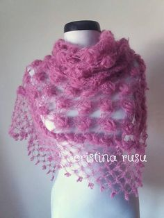 Pink cashmere and silk lace shawl Wedding silk cashmere cover