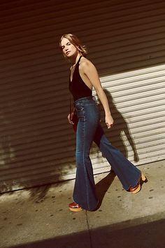 2968d7dea 27 Best Super Flare Jeans images | Boho fashion, Nice asses ...