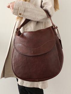 [Envelope online shop] Leather bag 3 Lisette Bags A simple leather bag, versatile design, good for all occasions.