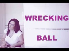 Akasha singing Wrecking Ball by Miley (Piano Cover)