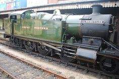GWR Class 4200 No 4277 Hercules on Paignton Kingswear Steam Railway. Photo by Martin Stone Steam Trains Uk, Diesel, Heritage Railway, Steam Railway, Old Trains, Electric Train, British Rail, Train Pictures, Train Engines