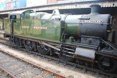 GWR Class 4200 No 4277 Hercules 2-8-0T