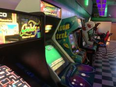 A traditional style arcade in Missouri!