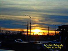 Evening Sunset off Bell Boulivard Belleville Ontario
