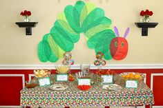Very Hungry Caterpillar Party Food | had the fruit from the book for the kiddos to snack on. In the ...