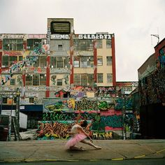 Ballerina Project at one of my favorite buildings in queens