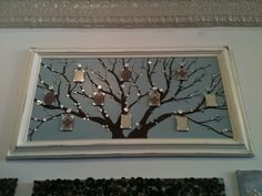 my family tree is finally done and hanging!