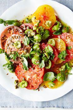 Heirloom Tomato Salads /