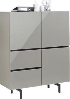Lurano, highboard 115 cm - 3-deuren + 2-laden
