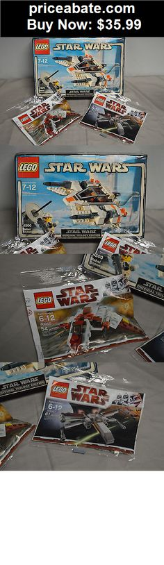 Toys: Lego Star Wars Rebel Snowspeeder #4500 -NEW Complete In Original Box + xtras - BUY IT NOW ONLY $35.99