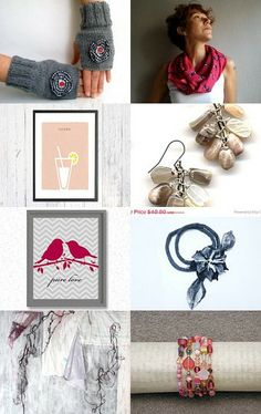 Pink Pops by Julia on Etsy